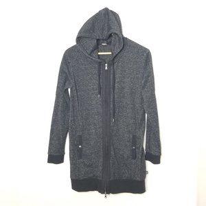 Thyme Maternity Gray  Full Zip Hoodie Sweater S